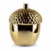 Pojemnik dekoracyjny GIA duży gold