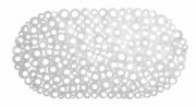 Mata łazienkowa Ring 69x36cm biała Galicja