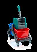 Profesjonalny wózek do sprzątania Duo Leifheit 59101