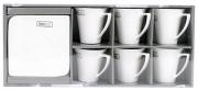 Komplet kawowy 12 elementów HomeDelux Quatre