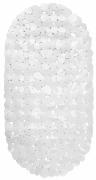 Mata łazienkowa Pebble 70x35cm biała Galicja