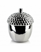 Pojemnik dekoracyjny GIA mały silver