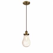 Lampa wisząca Westinghouse loft, retro