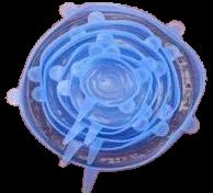 Zestaw nakładek silikonowych VESPERO