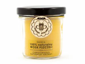 Świeca z wosku pszczelego, Miodowa Mydlarnia