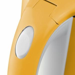 Czajnik bezprzewodowy żółty poj. 2l. AURORA